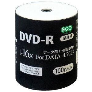 磁気研究所データ用DVD-R4.7GB16倍速ワイドプリンタブル対応100枚バルクパッケージDR47JNP100_BULK-6P【6個セット】送料無料!