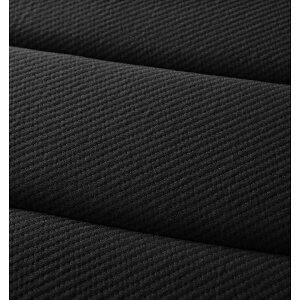ベッドセミシングル【プレミアム2層ポケットコイルマットレス付き】ブラック搬入・組立・簡単!選べる7つの寝心地!すのこ構造脚付きマットレスボトムベッド送料込!