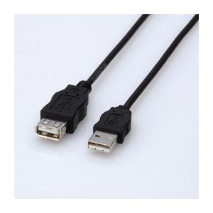 (まとめ)エレコム エコUSB延長ケーブル(1.5m) USB-ECOEA15【×5セット】 送料込!