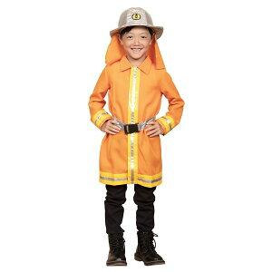 00c362664b1aa コスプレ衣装 コスチューム  消防士 120cmサイズ  子供用 ハロウィン おままごと お遊戯