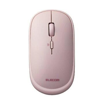 (まとめ)エレコム 2.4GHz無線マウスSlint(スリント) ピンク M-TM10DBPN 1個 【×5セット】