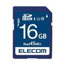 (まとめ) エレコム SDHCメモリカード 16GB MF-FS016GU11R【×5セット】 送料無料!