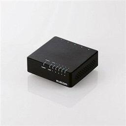 10/100Mbps対応スイッチングHub/5ポート/電源外付モデル/ブラック(EHC-F05PA-B)