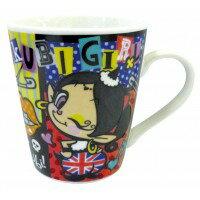 人気キャラクターのマグカップです。マグカップ アクビガール ロック・スクール (各2個セッ...