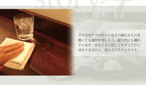 フロアベッドダブル【Lucious】【デュラテクノ付き】ダークブラウン棚・コンセント付きモダンデザインフロアベッド【Lucious】ルーシャス送料込!送料込!