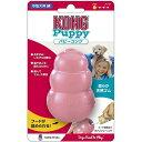 【ポイント5倍】パピーコング ピンク Mサイズ 1コ入 【コング】【知育おもちゃ・玩具(犬用)】