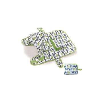 アニマル フード付 携帯用 レインコート L カエル 1コ入 【ワールド商事】【犬用レインコート】