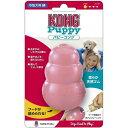 パピーコング ピンク Mサイズ 1コ入 【コング】【知育おもちゃ・玩具(犬用)】
