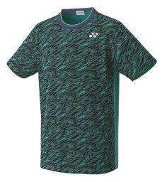 ヨネックス YONEX テニス・バドミントン ウエア(ユニ) ユニゲームシャツ(フィットスタイル) エメラルドグリーン(750) SS 10413 部活動 クラブ活動