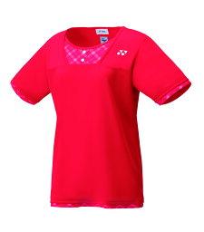 ヨネックス YONEX テニス・バドミントン ウエア(ウィメンズ) ウィメンズゲームシャツ(レギュラー) サンセットレッド(496) L 20499 部活動 クラブ活動