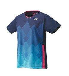 ヨネックス YONEX テニス・バドミントン ウエア(ウィメンズ) ウィメンズゲームシャツ(レギュラー) ネイビーブルー(019) S 20622 部活動 クラブ活動