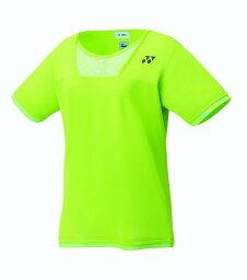 ヨネックス YONEX テニス・バドミントン ウエア(ウィメンズ) ウィメンズゲームシャツ(レギュラー) ライムグリーン(008) L 20499 部活動 クラブ活動