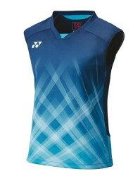 ヨネックス YONEX テニス・バドミントン ウエア(ウィメンズ) ウィメンズゲームシャツ(ノースリーブ) ナイトスカイ(609) XO 20612 部活動 クラブ活動