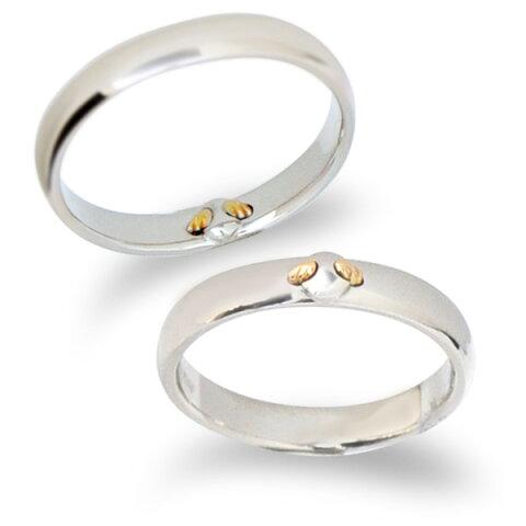 【刻印無料】【納期約4週間】Tenshi no Tamago 天使の卵 Angel Wedding 18金 マリッジリング 結婚指輪 レディース メンズ ペア 18金 K18 ホワイトゴールド ダイヤモンド 誕生石12色 AW2350-2357K18WG