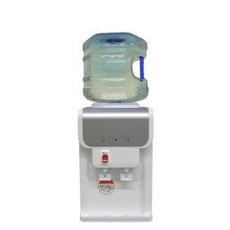 ガロンボトル用卓上型ウォーターサーバー SB19A1ホワイト 専用12リットルポリカーボネートボトル1本つき