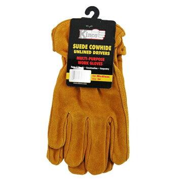 Kinco キンコ グローブ 50 メール便対応 ガーデン グローブ 作業用 手袋 S M L レザー 牛 革 ワーク レディース メンズ