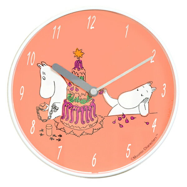 壁掛け時計,おしゃれ,北欧,ウォールクロック,掛け時計,ムーミンパパ,ムーミン