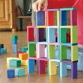 おもちゃ箱,ブロック,ドミノ,木製
