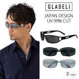 【送料無料】【全3色】GLADELI ブラック スモーク シルバー グレー ミラー G33-31 メンズ サングラス【NEWITEM】