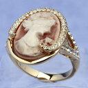 スワロフスキー リング カメオ ゴールド クリスタル 指輪 オリバーウェバー(OLIVER WEBER) プレゼント ...