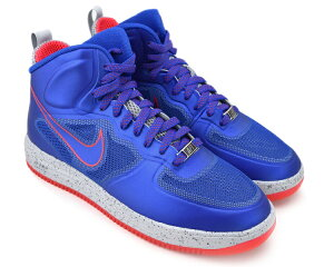 NIKE LUNAR FORCE 1 FUSE GM ROYAL/GM RYL-WLF GRY-SRN RD ナイキ ルナ フォース 1 フューズ