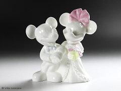 英国WEDGWOOD! ディズニーウエディング! 素敵な飾り! 【ウエッジウッド】ミッキー&ミニー ...