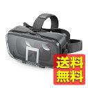 VRゴーグル VRグラス [デュアルレンズ採用でVR酔いを軽