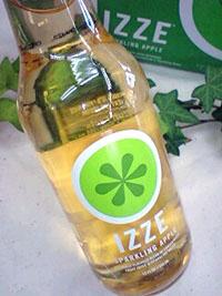 IZZE スパークリングジュースアップル 355ml