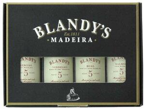 心を酔わせる大人のマデラワイン ミニチュア4本セット♪Blandy's MADEIRA GIFT SETブランディ...