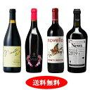 【新酒ワイン】ヴィーノ・ノヴェッロ 2019 4本セット【送料無料】【赤ワインセット】
