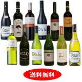 南アフリカ 日常ワイン赤白 12本セット【送料無料】【ワインセット】