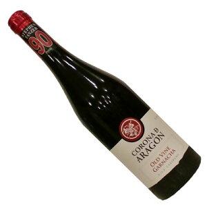 【スペインワイン】【赤ワイン】コロナ・デ・アラゴン・オールド・ヴァイン・ガルナッチャ 2017[ミディアムボディー]