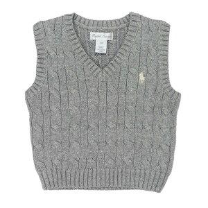 7d0ce8352b6b5e ラルフローレン RALPH LAUREN ベビー 男の子 セーター ベスト Cable-Knit Cotton Sweater Vest アンドーバー