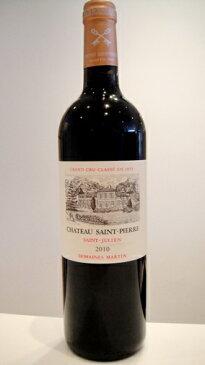 シャトー サン・ピエール 2010【A.C.サンジュリアン】Ch. Saint Pierre 2010【A.C.St.Julien】