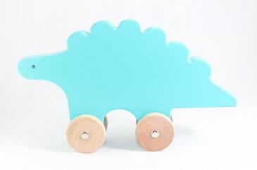 Dwell Studio ディノ・プッシュ・トイ 木製 Dino Push Toy 知育玩具