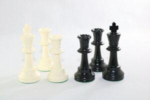 チェス駒セット♪トーナメント用大ウェイト入り♪キング10cm