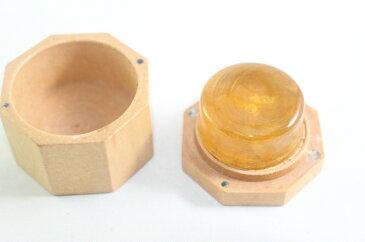 金粉松脂 ゴールド 八角形木箱入り Gold Powder Rosin High Grade