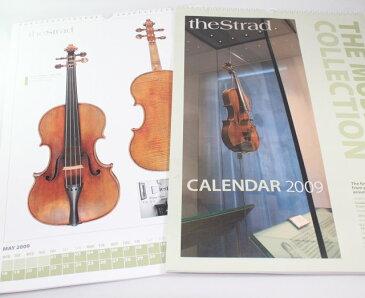 カレンダー 「ミュージアムの楽器」 2009年  雑誌 『The Strad』