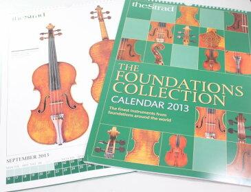 カレンダー 「財団のコレクション」 2013年  雑誌 『The Strad』
