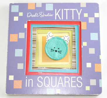Kitty in Squares 【古本】【英語】ボードブック Dwell Studio