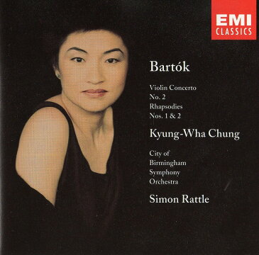CD チョン・キョン=ファ Kyung-wha Chung バルトーク・ヴァイオリン協奏曲第2番