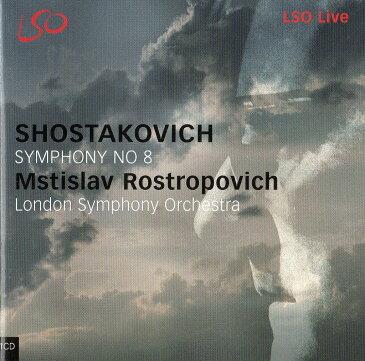 CD ロストロポーヴィチ Rostropovich ショスタコーヴィチ『交響曲第8番』
