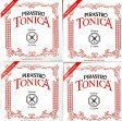バイオリン弦 トニカ TONICA 4弦セット (E A D G) ボールエンドE