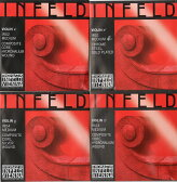 バイオリン弦 インフェルド赤  Infeld Red 4弦セット(E A D G)