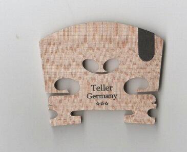 バイオリン駒 Teller ★分数1/2サイズ★ テラー E弦溝が黒檀 ドイツ製