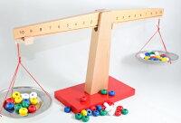 モンテッソーリはかり2種セットMontessoriBalanceScaleCounting知育玩具
