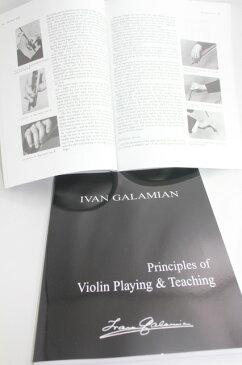 本 ガラミアン『Principles of Violin Playing and Teaching』♪ペーパーバック♪ Galamian