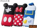 ディズニー・ダイカット・レザージャケット(フラップ合皮タイプ) for iPhone 6 Phone6 ケース iphone6 4.7 ケース カバー ハード アイフォン6iphone 6 ケース ディズニー