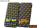 バットマン、スーパーマン・ポップアップ・ブックカバータイプ・レザージャケット for iPhone 6 【メール便指定商品】iPhone6 NEW iPhone レイアウト ray・out ジャケット カバー