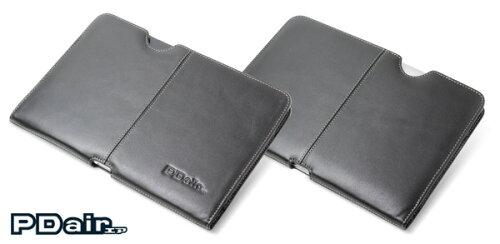 PDAIR レザーケース for GALAXY Tab 10.1 LTE SC-01D ポーチタイプ(ブラック)